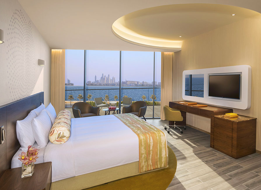 MGallery-Club Room King or Twin Bed with Balcony and Club Lounge Access